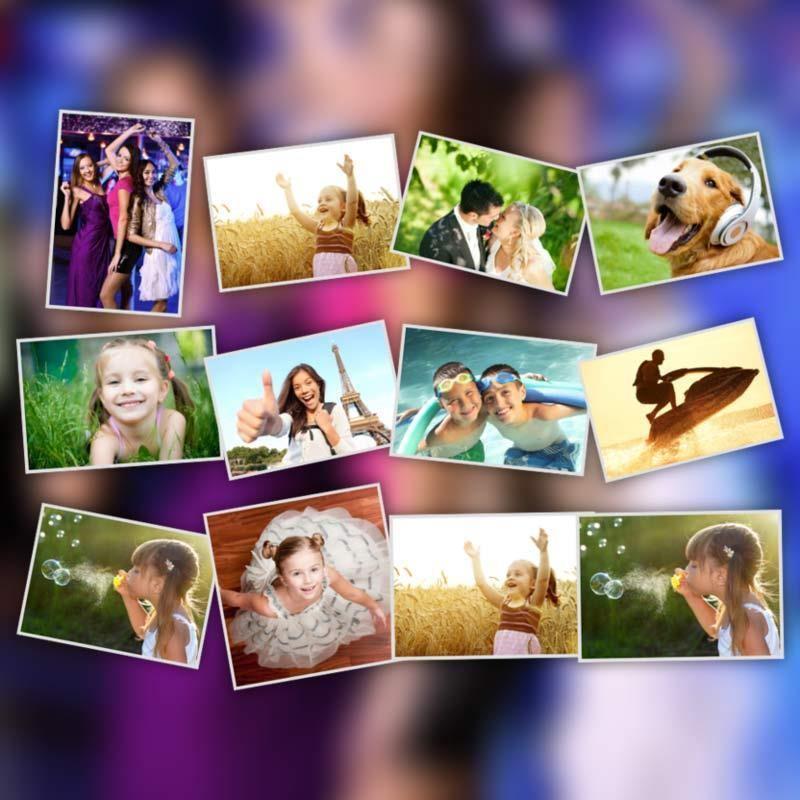 Сделать шаблоны для фотографии
